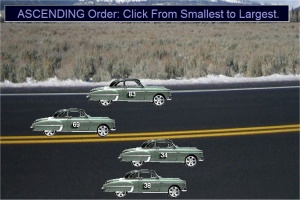 Place Value Ordering Numbers - oldsmobile Cars Game
