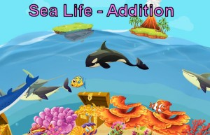 Addition Game - Sea Life