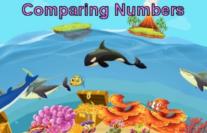 Sea Life Comparing Numbers