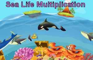 Sea Life Multiplication Game