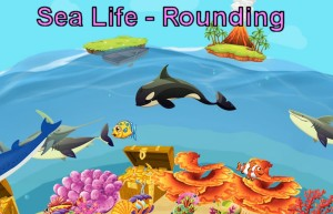 Sea Life Rounding Numbers Game