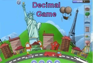 Town Creator - Decimal Game (Place Value & Rounding)