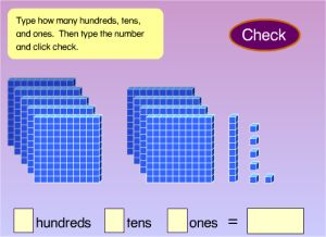 free online games for place value