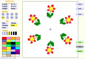 Interactive Rotational Symmetry Game - Symmetry Artist