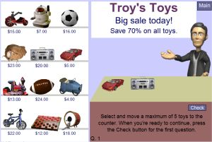Interactive Percentage Game - Troy's Toys