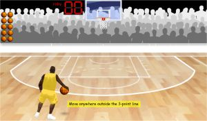 Two Step Equations Game - Algebra Basketball Hoop Shoot Game