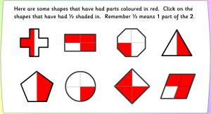 Visual Fractions Game