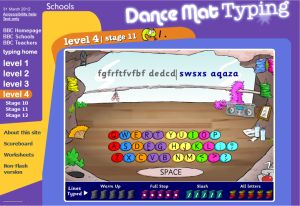 Dance Mat Typing Tutorial For Kids