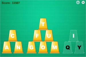 Cup Stacking Free Typing Game For Kids