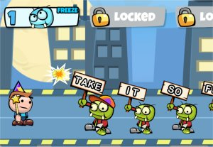 Typing zombies - A keyboarding game for kids