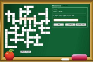 Free Online Kids Crossword Puzzle