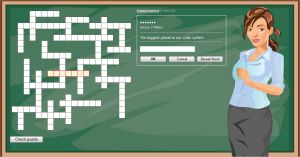Crossword Puzzle for Grade 3 (Free and Online)
