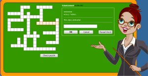 Free Crossword Puzzle For Grade 1 Kids (Easy)