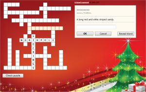 Christmas Crossword Puzzle For Kids (Online, Free & Easy) Grades 3 and 4