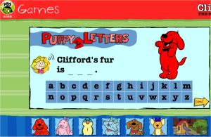 Clifford the Dog - Puppy Letters